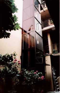 ascensore esterno(Sciuto)